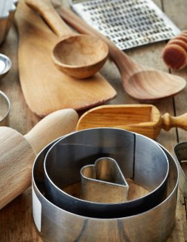 infraovens wooden utensils