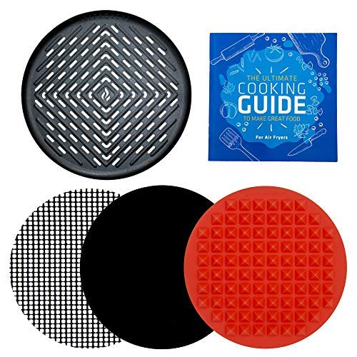 Round Grill Pan Silicone Mat