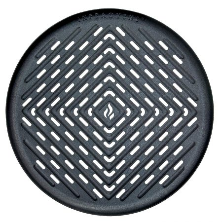 Air Fryer Non-Stick Grill Pan Accessory Large for Power AirFryer 3.4QT, GoWise 3.7QT, Cozyna 3.7QT, Chefman 3.5L, Farberware 3.2QT, Emerald 3.2QT +More Large to X-Large Deep Fryers | by Infraovens