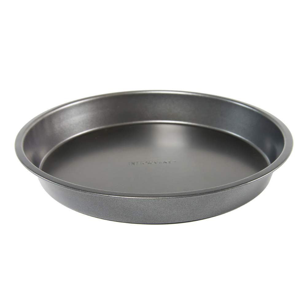Round Cake Pan 9 Inch Oven Accessory made with Non-Stick Aluminum for Baking & Cooking Pizza, Bread, Cake, Cookies, Brownies, Muffins and even Meat and Vegetables - [SET OF 2] by INFRAOVENS