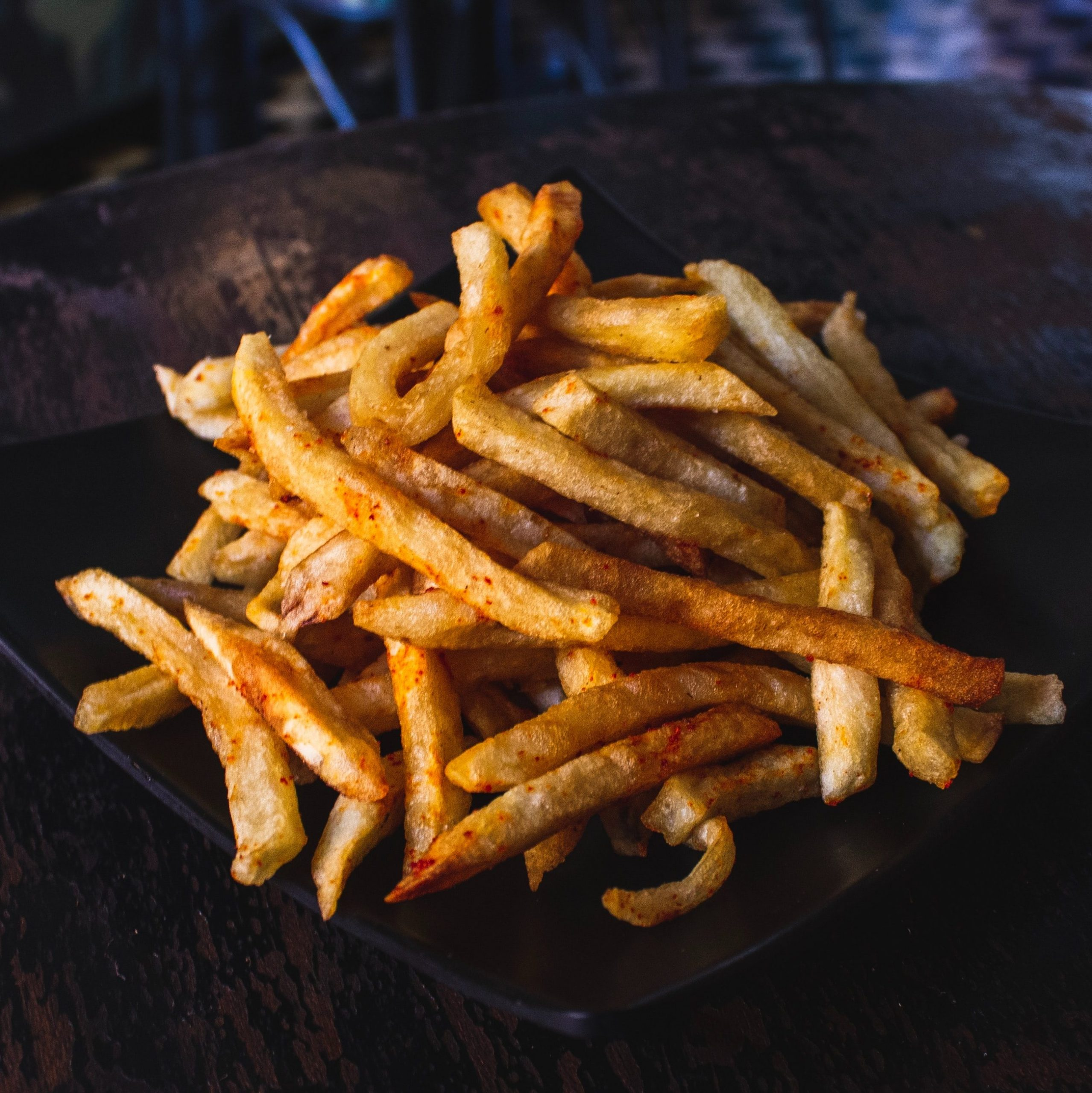air fryer fries recipe healthy fries no oil oil-less receta de papas fritas para freidora de aire sin aceite papitas sin freir