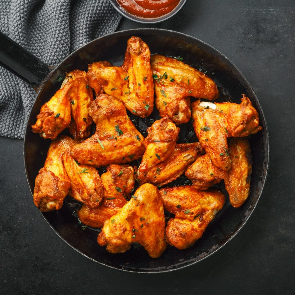Convection Oven Dry Rub Chicken Wings